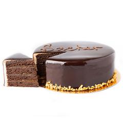 Торт «Захер» (кусочек)