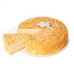Торт «Медовик» (кусочек)