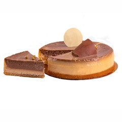 Торт «Чизкейк мраморный»