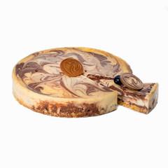 Торт «Чизкейк мраморный» (кусочек)