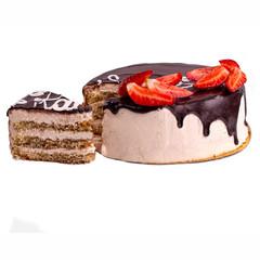 Торт «Капучино» (кусочек)